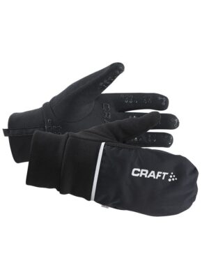 Hybrid Weather Glove – Black, 9/M