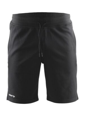 In-the-zone Sweatshort Herre – Black, XXL