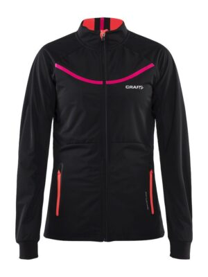 Intensity Jacket Dame – Black/Panic, M