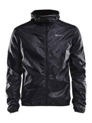 Breakaway Light Weight Jacket Herre – Black, XXL