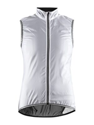 Lithe Vest Dame – White/Black, XL
