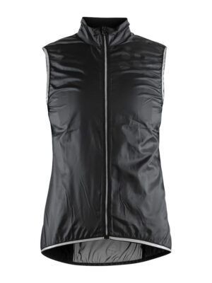 Lithe Vest Dame – Black, XL