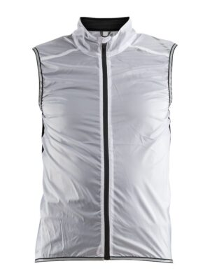 Lithe Vest Herre – White/Black, XXL