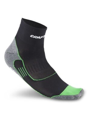 Active Bike Sock – Black, 37/39