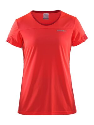 Radiate SS Tee No 2 W – Panic/Poppy, M