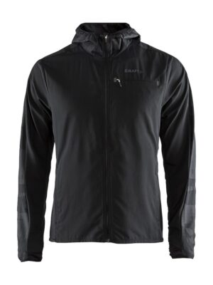 Urban Run Hood Jacket M – Black/Asphalt, XXL