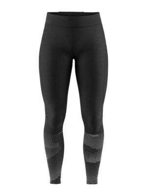 Delta 2.0 Warm Long Tights W – Black/Platinum, XL