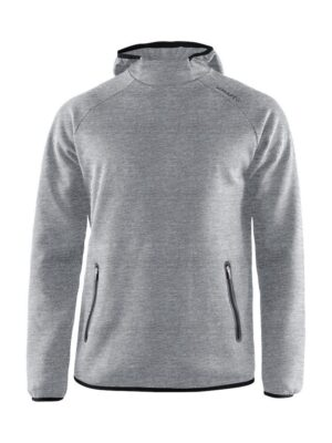 Emotion Hood Sweatshirt M – Grey Melange, 3XL