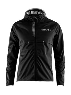 Repel Jacket Herre – Black/Silver Reflective, XL
