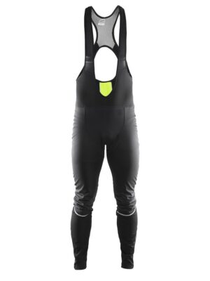 Storm Bib Tights M – Black/Flumino, XL