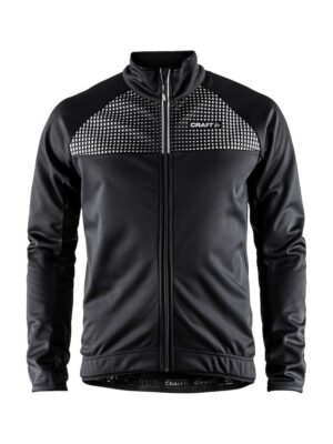 Rime Jacket M – Black/Silver Reflective, XL