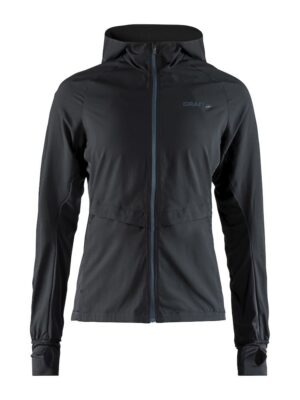Urban Run Hood Jacket W – Black/Lead, M