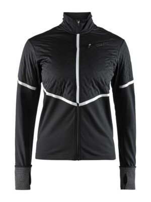 Urban Run Thermal Wind Jacket W – Black/Silver, XL