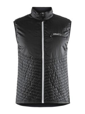 Urban Run Body Warmer M – Black/Silver, XL