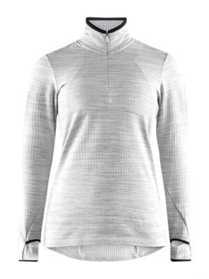 Grid Halfzip W – Grey Melange, XXL