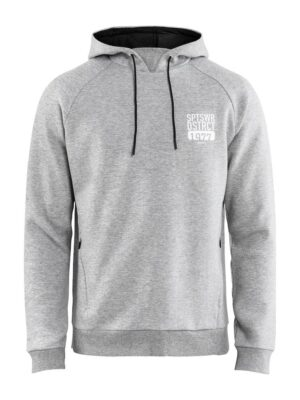 District Hood M – Grey Melange, XXL