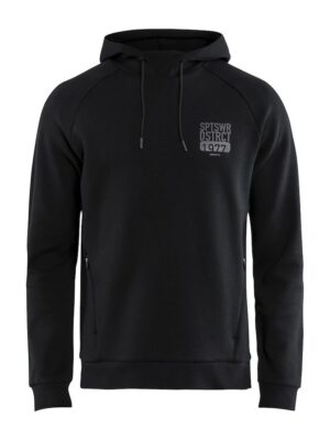 District Hood M – Black, XXL