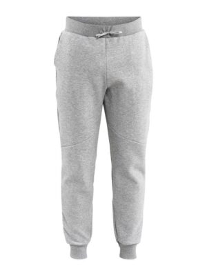 District Crotch Sweat Pants M – Grey Melange, XXL