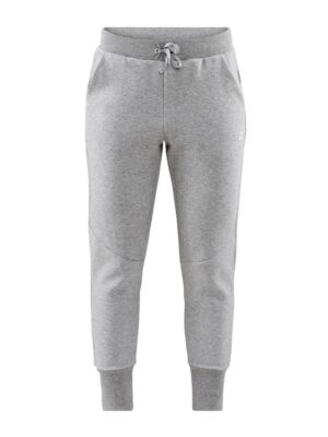 District Crotch Sweat Pants W – Grey Melange, XL