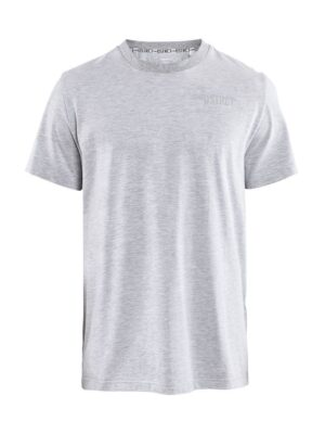 District Clean Tee M – Grey Melange, XXL