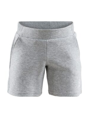 District Shorts Jr – Grey Melange, 158/164