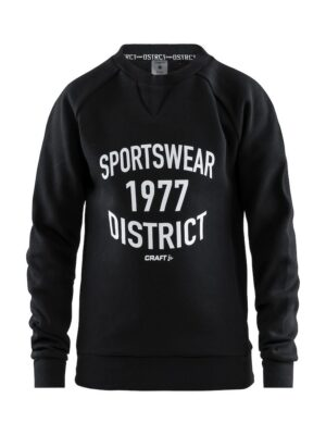 District Crewneck Jr – Black, 158/164