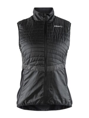 Urban Run Body Warmer W – Black/Silver, XL
