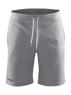 In-the-zone Sweatshort Herre – Grey Melange, XXL