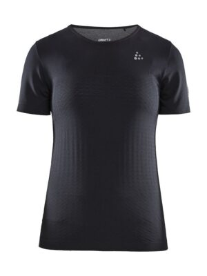Urban Run Fuseknit Light Tee W – Black, XL