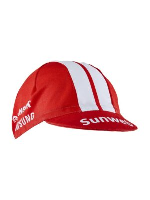 Team Sunweb Bike Cap – Sunweb Red, 0