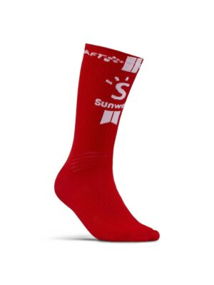 Team Sunweb Bike Socks – White/Sunweb, 46/48