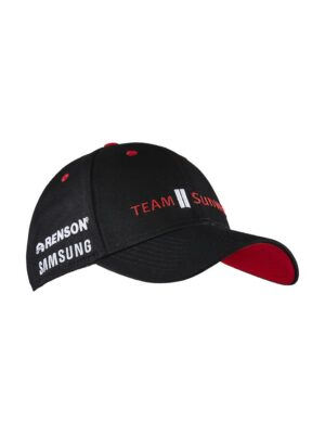 Team Sunweb Podium Cap – Black/White, 0