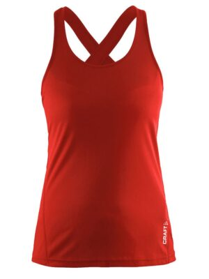 Mind Singlet W – Bright Red, XXL