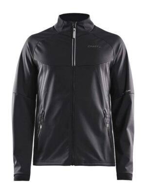 Warm Train Jacket M – Black/Transparent Grey, XXL