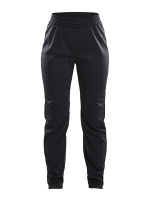 Warm Train Pant W – Black/Transparent Grey, XL