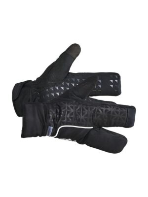 Siberian 2.0 Split Finger Glove – Black, 9/M