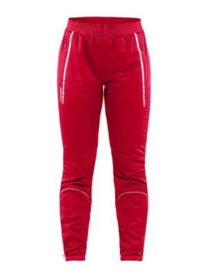 Club 3/4 Zip Pants W – Bright Red, XL