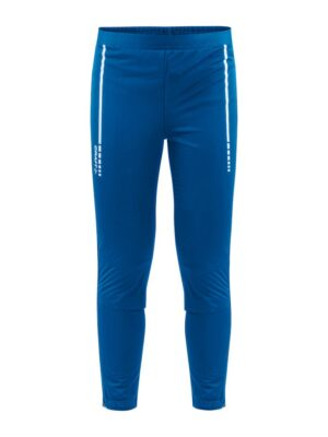 Warm Club 3/4 Zip Pants J – Sweden Blue, 158/164