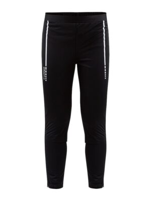 Warm Club 3/4 Zip Pants J – Black, 158/164