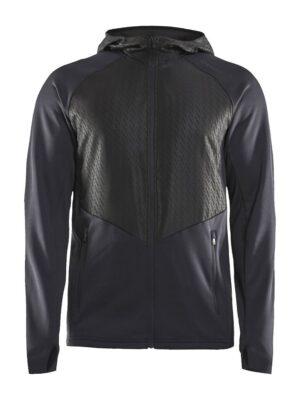 Charge FZ Sweat Hood Jacket M – Black, XXL