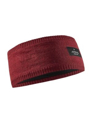 Urban Knit Headband – Rhubarb
