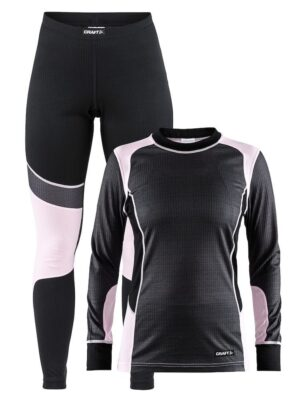 Baselayer Set W – Dk Grey Melange/Misty, XXL