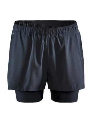 Adv Essence 2-in-1 Stretch Shorts M – Black, XXL