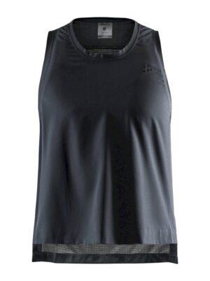 Unmtd Hight Slit Top W – Black, XL